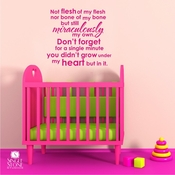 Adoption Creed - Wall Decals