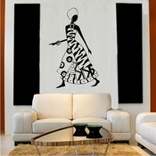African Woman - Wall Decals