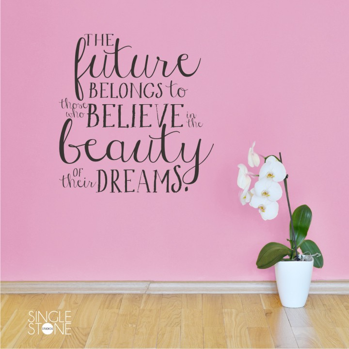 Beauty Of Their Dreams - Eleanor Roosevelt - Wall Decals - Wall ...