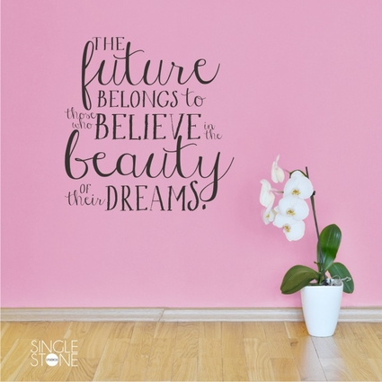 Beauty Of Their Dreams - Eleanor Roosevelt - Wall Decals