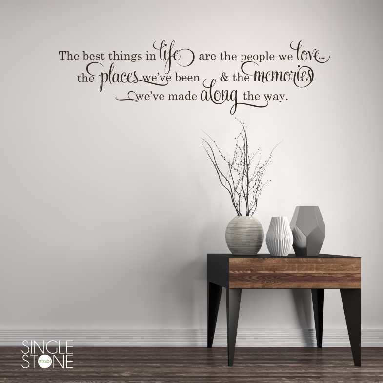 Best Things In Life - Wall Decals & Best Things In Life - Wall Decals - Wall Decals | Wall Stickers ...