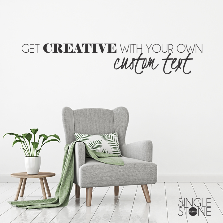 Custom wall decal create your own