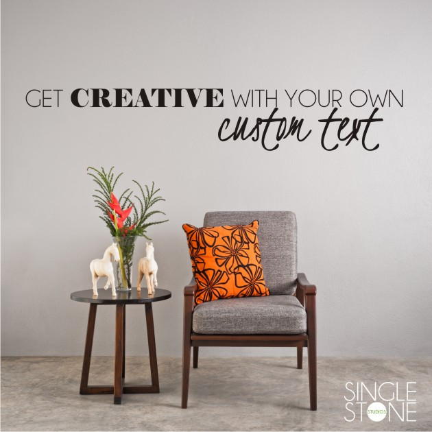 Lovely Custom Wall Decal   Create Your Own