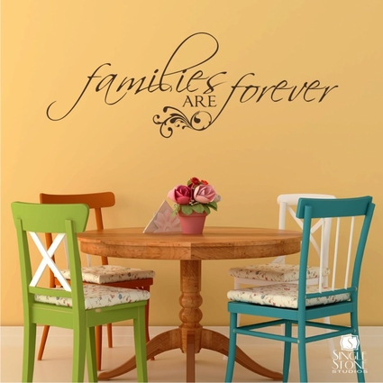 Families are Forever - Wall Decals