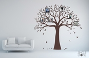 Family Tree Photo Frame - Wall Decal