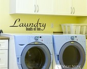 Laundry - Loads of Fun - Wall Decals