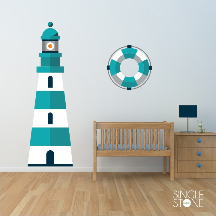 Lighthouse Wall Decals