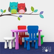 Love Owls - Wall Decals