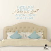 Love You Always - Wall Decals