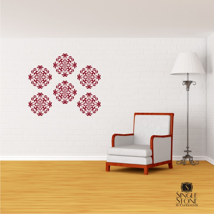 Medallion Wall Pattern   Wall Decals