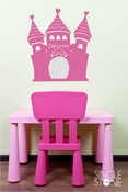 Princess Castle - Wall Decals