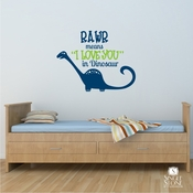 RAWR - Wall Decals
