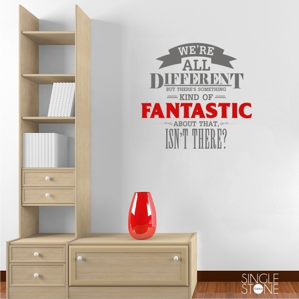 We're All Different - Wall Decals