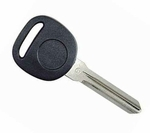 2009 Chevrolet Express transponder key blank