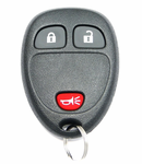 2009 Chevrolet Silverado Keyless Entry Remote