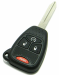 2009 Jeep Wrangler Remote Key w/ Engine Start