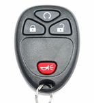 2009 Pontiac Torrent Keyless Entry Remote start Remote - Used