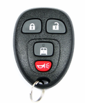 2010 GMC Savana Keyless Entry Remote w/Back Door