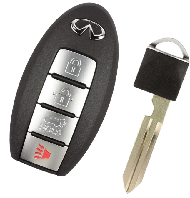 2011 Infiniti Fx35 Remote Keyless Entry Used With Power