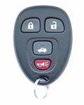 2012 Chevrolet Malibu Keyless Entry Remote