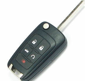 2012 Chevrolet Sonic Remote Key engine start and trunk
