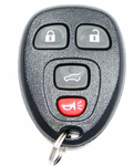 2013 Buick Enclave Keyless Entry Remote w/ Rear Glass