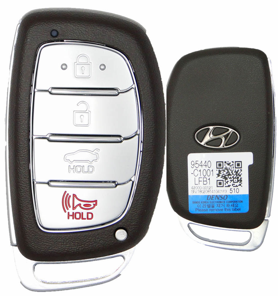 2015 Hyundai Sonata Smart Remote Keyless Entry Key Key