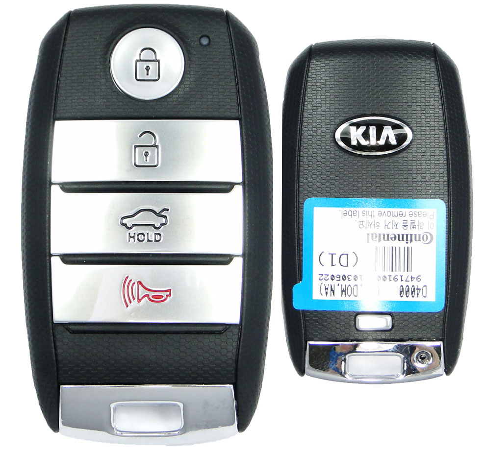 2016 Kia Optima Smart Prox Remote Keyless Entry Key Fob 95440d4000 Sy5jffge04