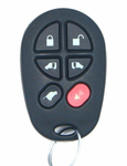 2016 Toyota Sienna XLE/Limited Keyless Entry Remote - Used