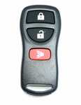 2017 Nissan Frontier Keyless Entry Remote