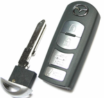 2018 Mazda 3 Sedan Intelligent Smart Key Fob Remote w/trunk