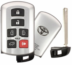 2018 Toyota Sienna smart remote key