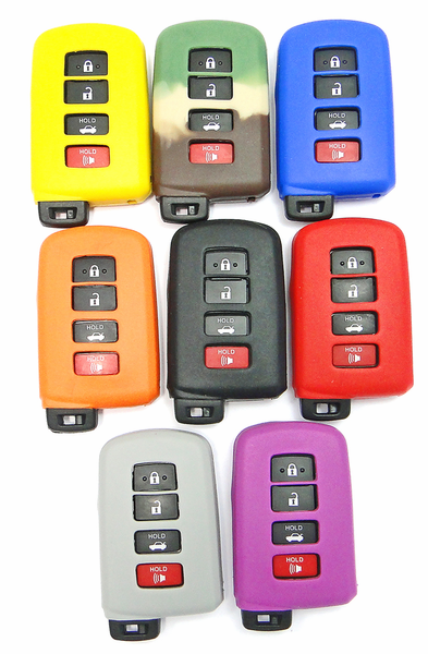 2017 Toyota Highlander Accessories >> Toyota Smart Keyless Entry Remote Rubber cover