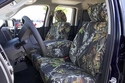 FRONT: 40/20/40 Bench Seat RuffTuff Outdoor Camo