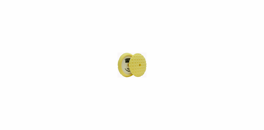 CCS 8.5 inch Yellow Cutting Pad Curved (1)