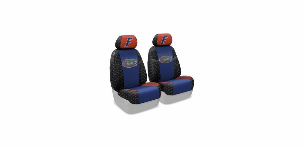 FRONT SEATS:<br>Collegiate Seat Covers