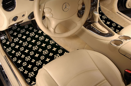 Fashion Designer Plush Carpet Floor Mats