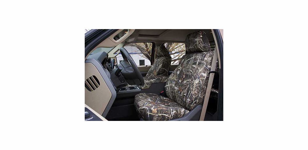 FRONT SEAT<br> Buckets or Std. Bench <br>RuffTuff Outdoor Camo