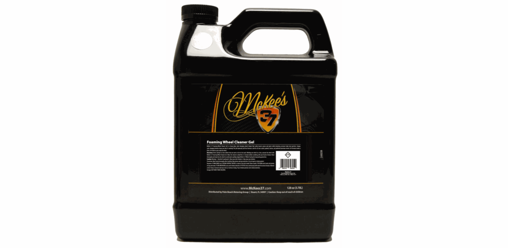McKee's 37 Foaming Wheel Cleaner Gel 128 oz.