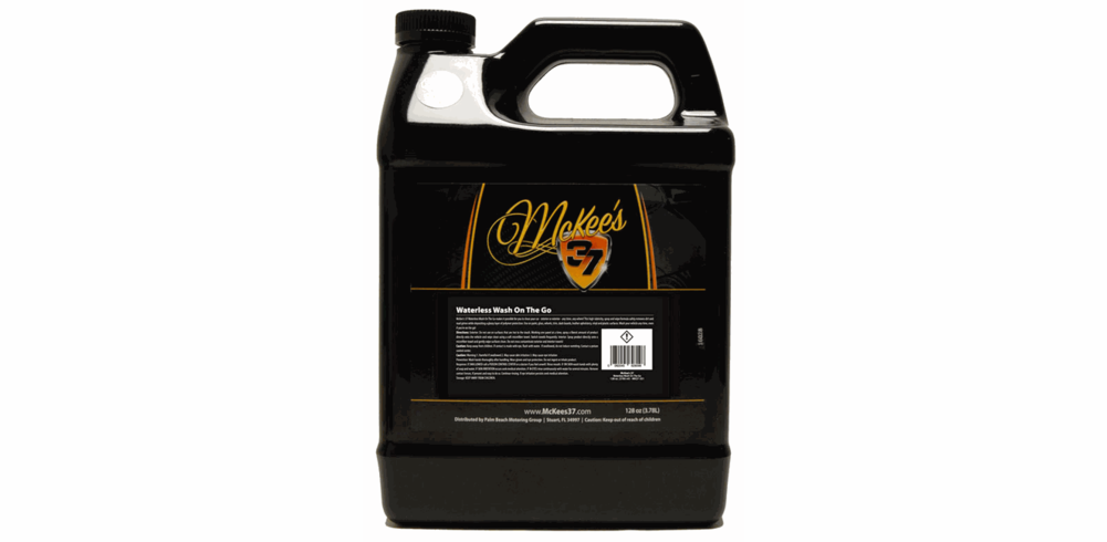 McKee's 37 Waterless Wash On The Go 128 oz.