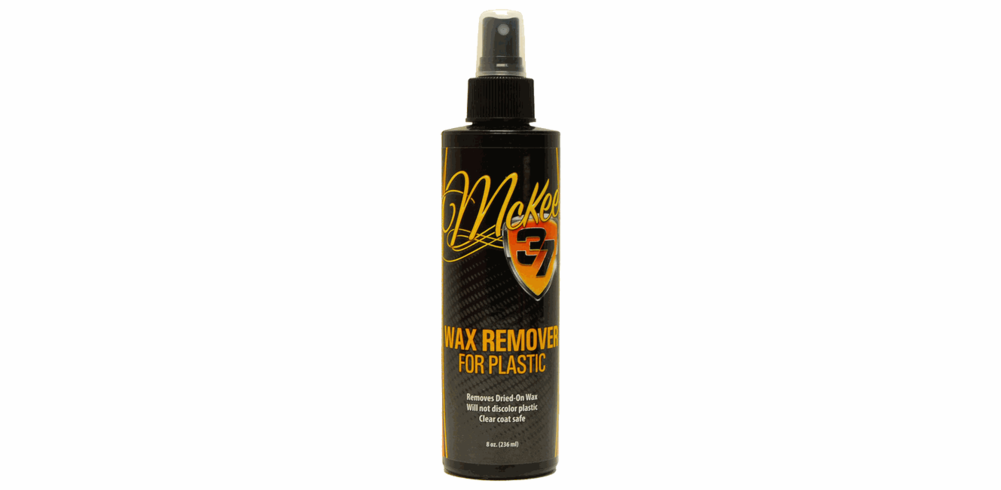 McKee's 37 Wax Remover for Plastic