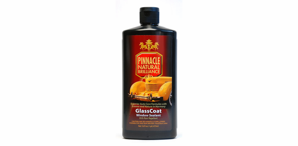 Pinnacle GlassCoat Window Sealant With Rain Repelant