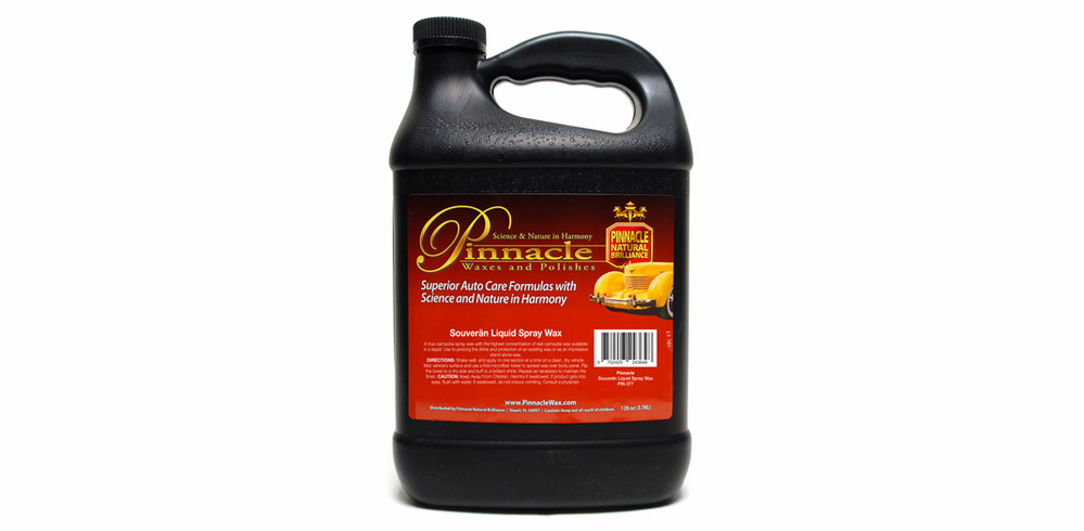 Pinnacle Soveran Liquid Spray Wax Gallon