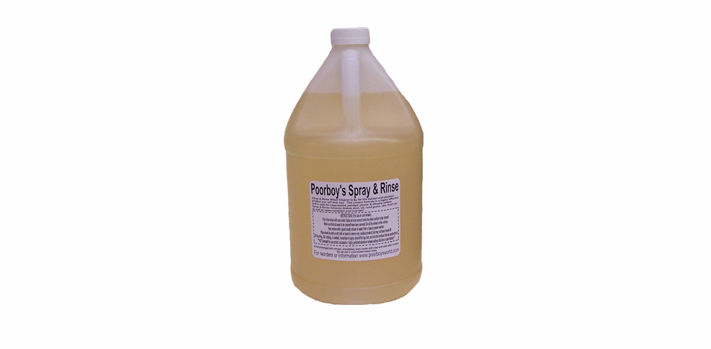 Poorboy's World Spray and Rinse Wheel Cleaner 1 Gallon