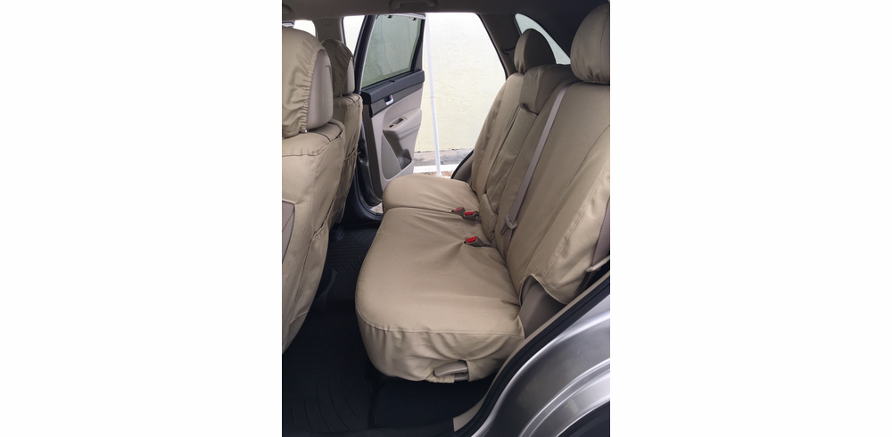 REAR SEAT<br> Custom Canvas Seat Covers
