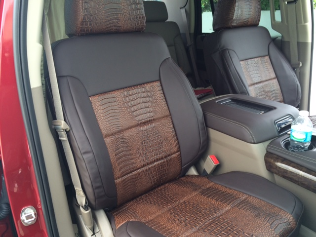 Rufftuff Exotic Material Seat Covers From 399 99