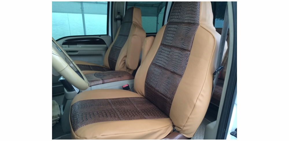 RuffTuff Exotic Seat Covers<br> Bucket & Std Bench Seats