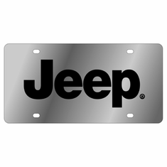 Stainless/Acrylic 3D License Plates