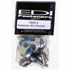 Stainless Steel License Plate Fasteners With Caps