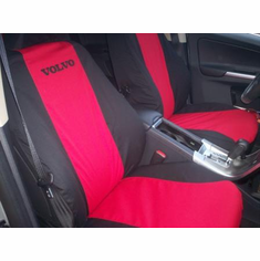 Two-Tone Custom Canvas Seat Covers